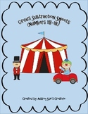 Circus Subtraction Practice Sheets