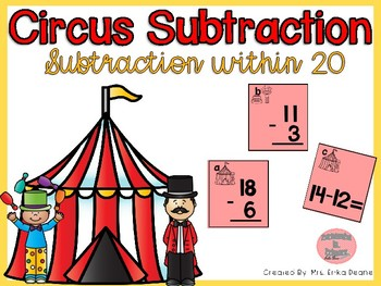 Circus Subtraction within 20
