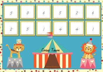 Circus Tent Number Formation
