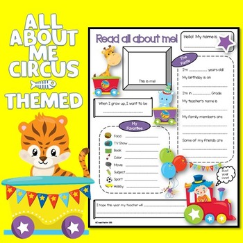 All About Me Circus Theme