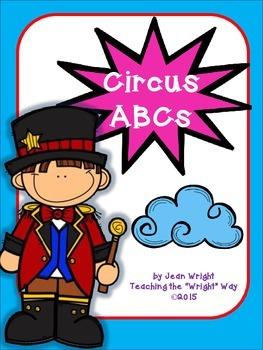 Circus Theme ABC Set