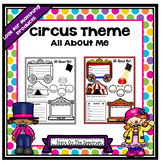 Circus Theme All About Me