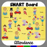 SMARTBoard Attendance Circus