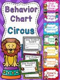 Circus Theme Classroom Decor Circus Behavior Chart
