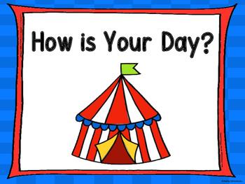 Circus Behavior Clip Chart