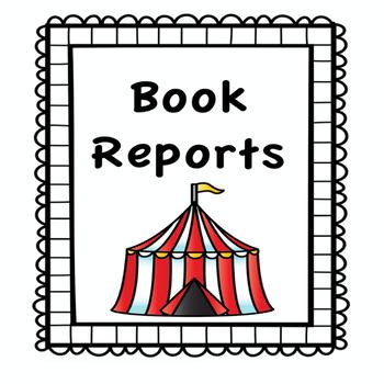 Circus Theme Book Report