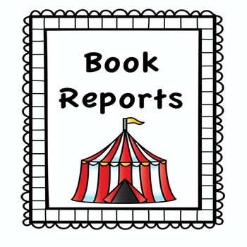 Circus Theme Book Report