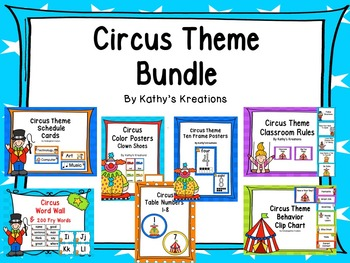Circus Decor Bundle