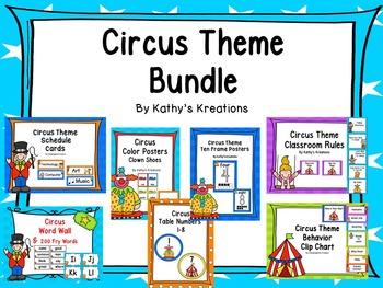 Circus Theme Bundle