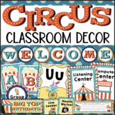 Circus Theme Classroom Decor Bundle