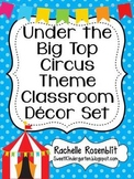 Circus Theme Classroom Decor Set