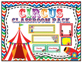 Circus Theme Classroom Decoration Pack