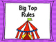 Circus Classroom Rules