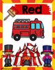 Circus Theme Color Posters