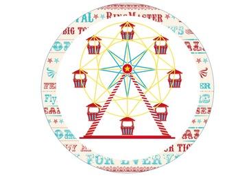 Circus Theme Decor Cutouts