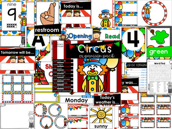 Circus Theme Decor {Expansion Pack}