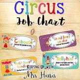 Circus Job Chart - Editable!