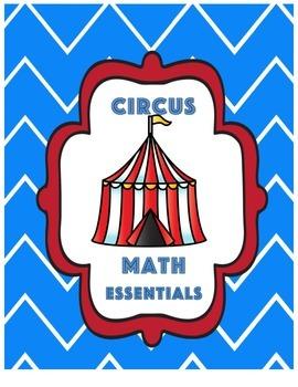 Circus Theme Math  Essentials
