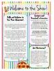 Circus Theme Parent Newsletter Bundle
