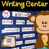 Circus Pictionary Cards - Vocabulary, Writing Center, Writ