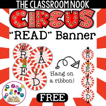 Circus-Theme:  READ Banner