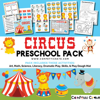Circus Theme Unit (Preschool or Homeschool)