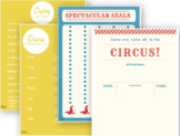 Circus Theme Unit Study | Week Long Lesson Plan for All Subjects