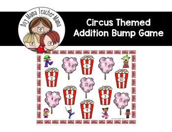 Circus Themed Addition Bump Game