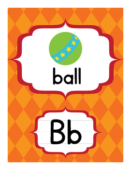 Alphabet Mini Posters