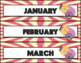 Circus Theme Calendar and Days of the Week