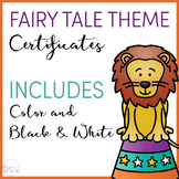 Circus Themed Certificates