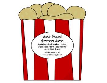 Circus Themed Classroom Decor