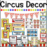 Circus Themed Classroom Decor Bundle
