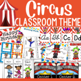 Circus Theme: Classroom Decor (BUNDLE)