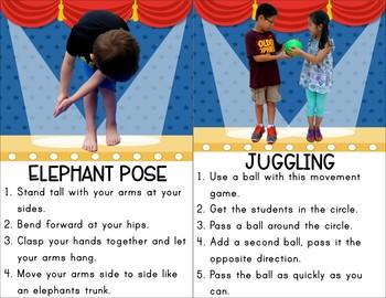 Circus Themed Kids Yoga