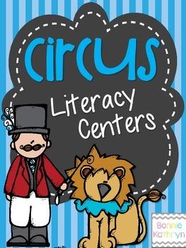 Circus Themed Kindergarten Literacy Activities
