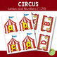 Circus Themed Letters and Number Cards