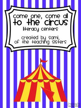 Circus Themed Literacy Centers - Common Core Aligned
