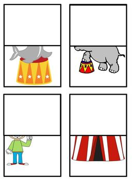 Circus Themed Matching Game