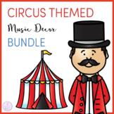 Circus Themed Music Classroom Decor Bundle