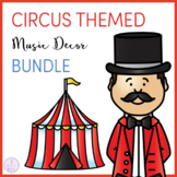 Circus Themed Music Classroom Decor Bundle