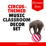 Circus-Themed Music Classroom Decor Set