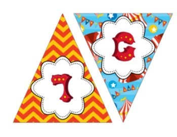 Circus Themed Music Room Welcome Banner