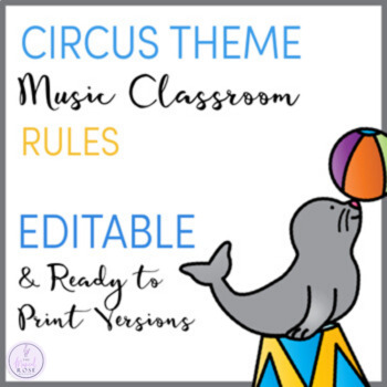 Circus Themed Music Rules