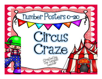 Circus Themed Number Posters 0-20
