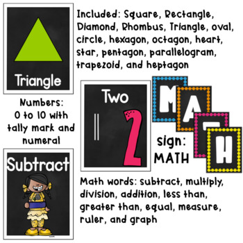 Shapes, Numbers and Symbols