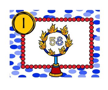 Circus Themed Task Cards Ring of Fire Rounding