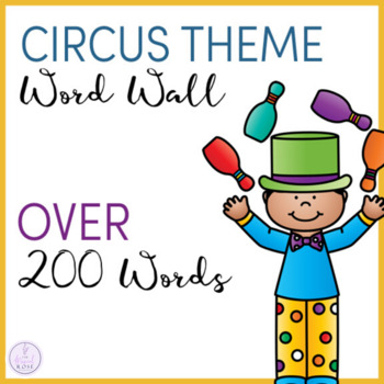 Circus Themed Word Wall