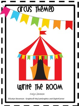 Circus Themed Write The Room Set