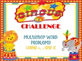 Circus Ticket Challenge: Multistep Word Problems
